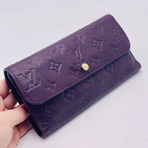 Louis Vuitton Aube Empreinte Virtuose Wallet